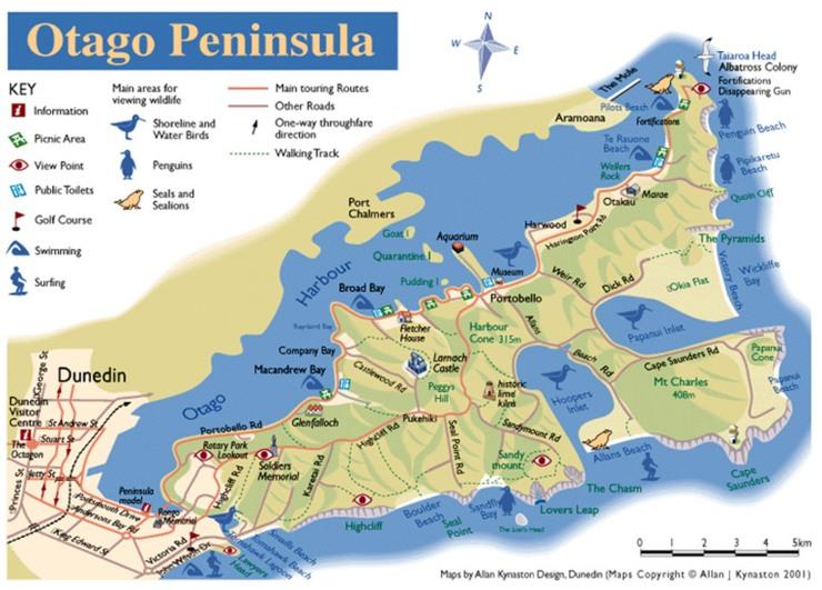 0653 Dunedin - Otago Peninsula